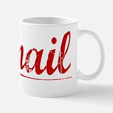 Ismail, Vintage Red Mug