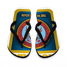 Michigan Gold Label Flip Flops