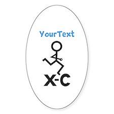 PERSONALIZE XC Runner Sticker