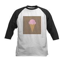 Pink Strawberry Ice Cream Baseball Jersey