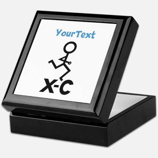 PERSONALIZE XC Runner Keepsake Box