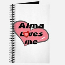 alma loves me Journal