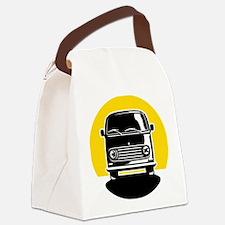 Minivan in Sunset 2 Canvas Lunch Bag