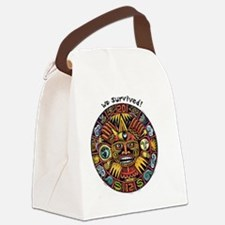 We Survived!2012 Mayan Calendar Canvas Lunch Bag