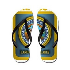 Minnesota Gold Label Flip Flops