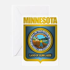 Minnesota Gold Label Greeting Card