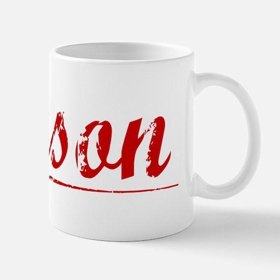 Jenson, Vintage Red Mug