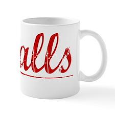 Ingalls, Vintage Red Mug