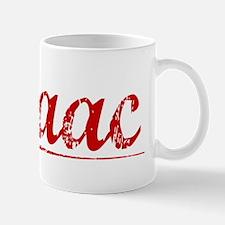 Isaac, Vintage Red Mug