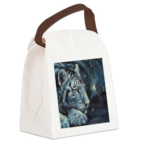 Burning Bright Canvas Lunch Bag
