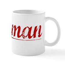 Jackman, Vintage Red Mug