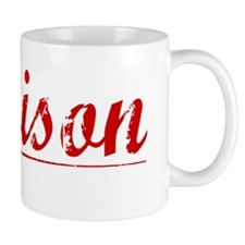 Jamison, Vintage Red Mug