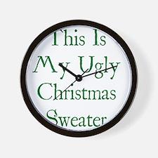 christUgly1D Wall Clock