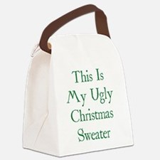 christUgly1D Canvas Lunch Bag