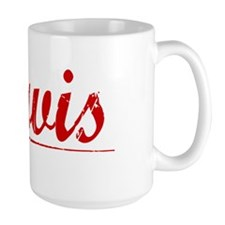 Jarvis, Vintage Red Mug