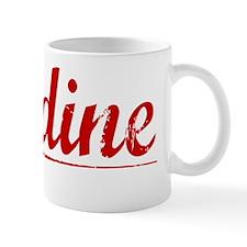 Jardine, Vintage Red Mug