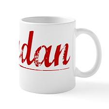 Jourdan, Vintage Red Mug