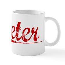 Jeter, Vintage Red Mug