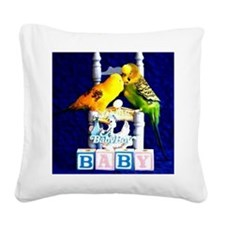 A BABY BOY Square Canvas Pillow