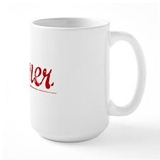 Joiner, Vintage Red Mug