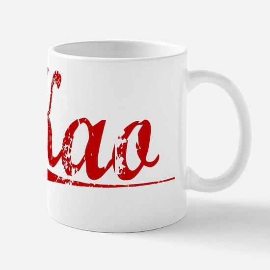 Kao, Vintage Red Mug