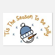 Season To Be Jolly Postcards (Package of 8)