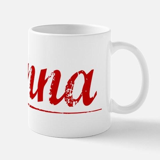 Kenna, Vintage Red Mug