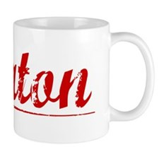 Keaton, Vintage Red Small Mug