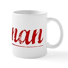 Keenan, Vintage Red Mug