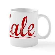Kale, Vintage Red Small Mug