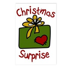 Christmas Suprise Postcards (Package of 8)