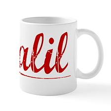 Khalil, Vintage Red Mug