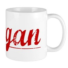 Keegan, Vintage Red Mug