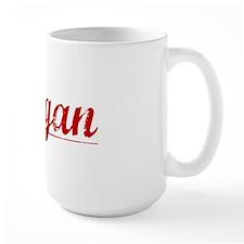 Keegan, Vintage Red Mug