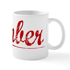 Kimber, Vintage Red Mug