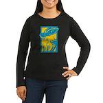Underwater Fish Women's Long Sleeve Dark T-Shirt