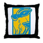 Underwater Fish Throw Pillow