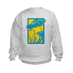 Underwater Fish Kids Sweatshirt