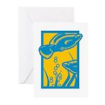 Underwater Fish Greeting Cards (Pk of 10)