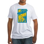 Underwater Fish Fitted T-Shirt