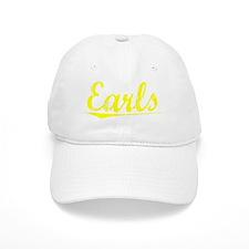 Earls, Yellow Baseball Cap
