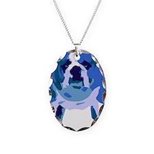English Bulldog Pop Art Necklace