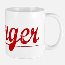Klinger, Vintage Red Mug