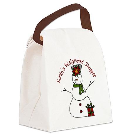 Designated Shopper Canvas Lunch Bag
