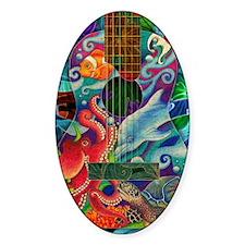 Ocean guitar Decal