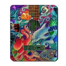Ocean guitar Mousepad