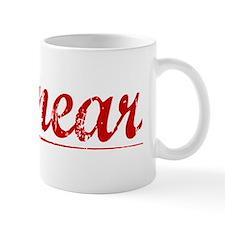 Kinnear, Vintage Red Mug