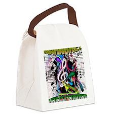 KARAOKE!  LETS GET STARTED! Canvas Lunch Bag