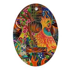 phoenix-journal Oval Ornament