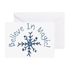 Magic Snowflake Greeting Card